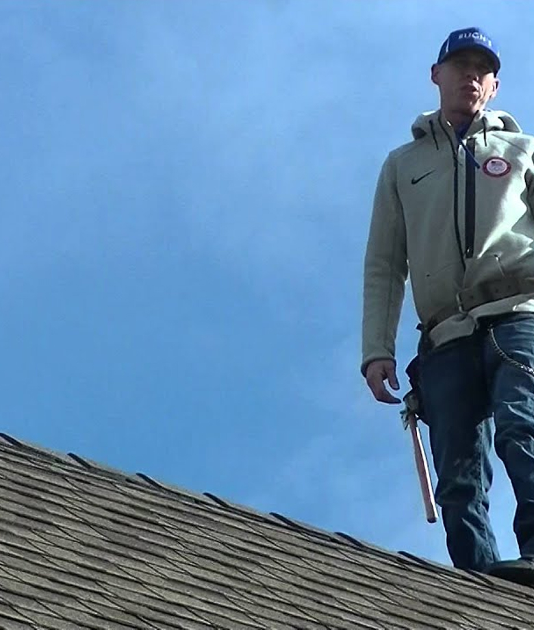 A professional roofing inspection service