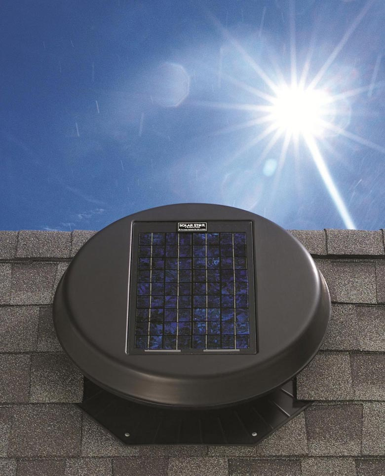 Roof Ventilation (Solar Exhaust System Vents)